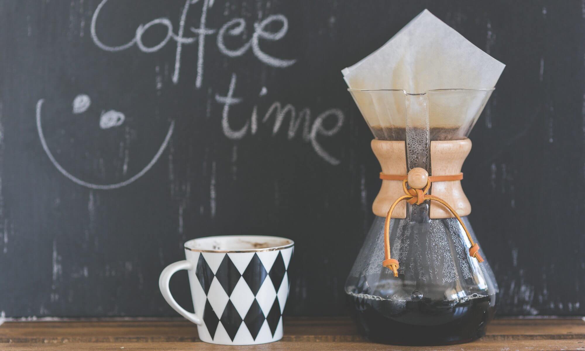 Création exceptionnelle d'un café