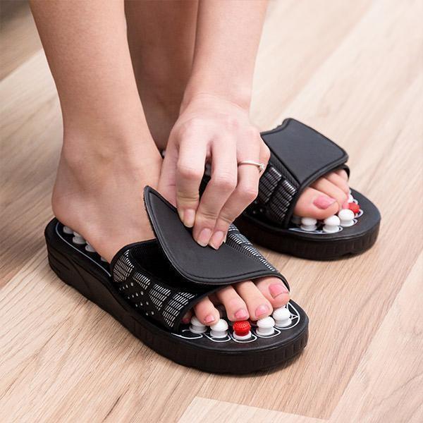 Les bienfaits des sandales de réflexologie plantaire