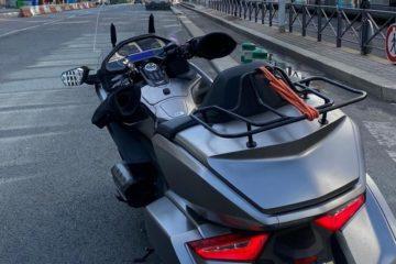 Quel bagage prendre pour un taxi moto ?